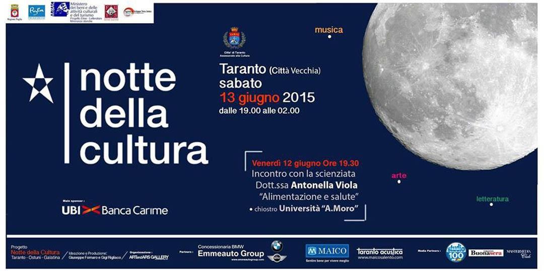 Notte della Cultura Taranto