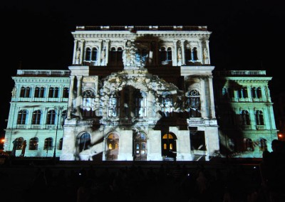 Videomapping 3D e Visual Show