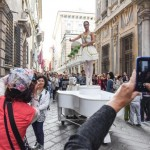 Carillon umano via Garibaldi